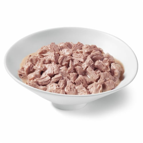 Fancy Feast Creamy Delights Tuna Feast with Real Milk Wet Cat Food Perspective: bottom