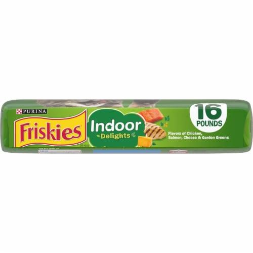 Purina Friskies Indoor Delights Dry Cat Food Perspective: bottom