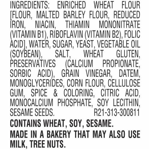 Ball Park® White Hot Dog Buns Perspective: bottom