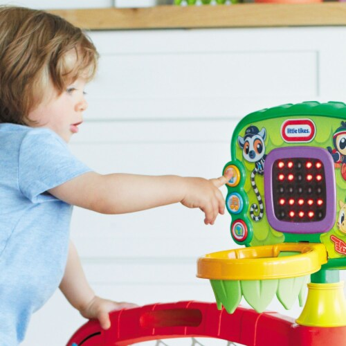 Little Tikes 643224P 3-in-1 Sports Zone Light Up Baby Toddler Toy with Sound Perspective: bottom
