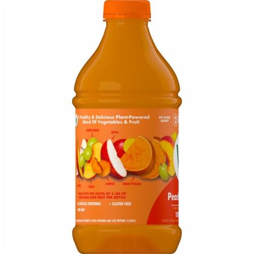 V8 V-Fusion Peach Mango Juice Perspective: bottom
