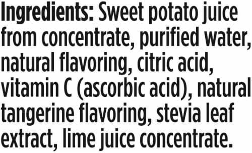 V8 +Hydrate Lime Tangerine Beverage Perspective: bottom
