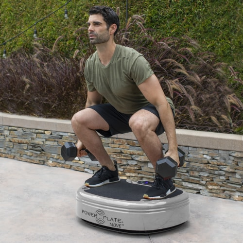 Power Plate MOVE-Silver Perspective: bottom