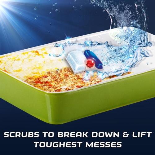 Finish Powerball Quantum Dish Detergent Perspective: bottom
