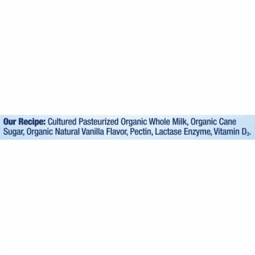 Stonyfield® Organic Vanilla Probiotic Whole Milk Yogurt Perspective: bottom