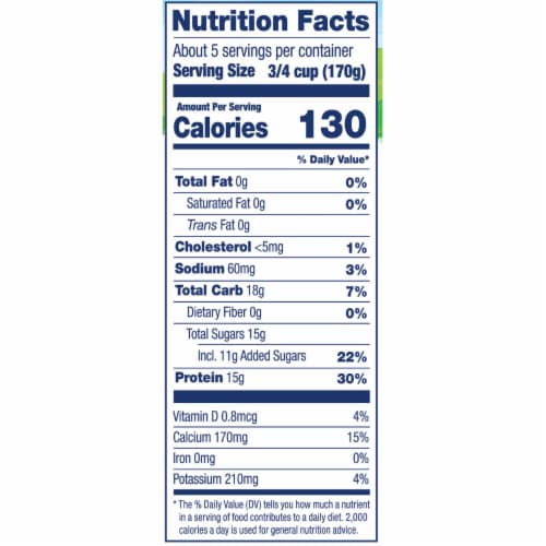 Stonyfield® Organic Vanilla Bean Nonfat Greek Yogurt Perspective: bottom