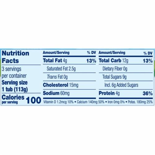 Stonyfield® Organic YoBaby Apple & Blueberry Whole Milk Yogurt Perspective: bottom