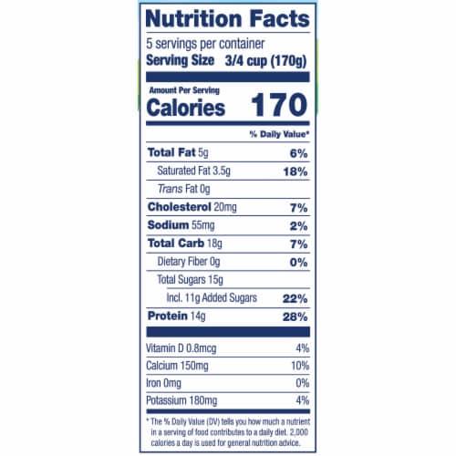 Stonyfield® Organic Vanilla Bean Whole Milk Greek Yogurt Perspective: bottom