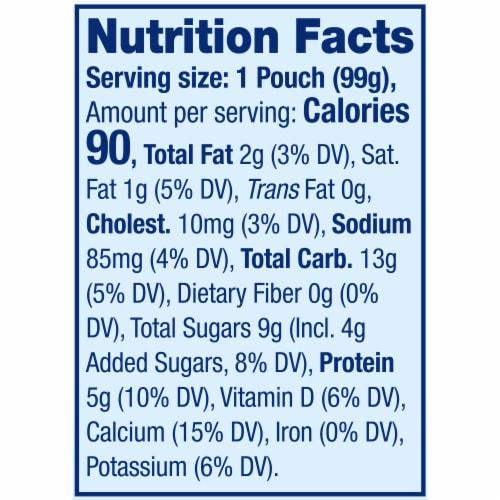 Stonyfield® Organic Kids Strawberry Banana Lowfat Yogurt Perspective: bottom