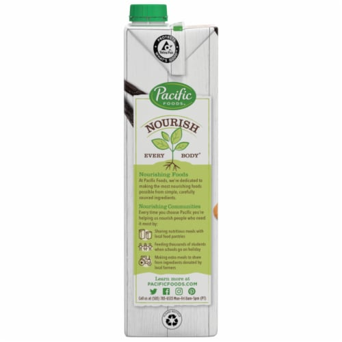 Pacific Foods™ Vanilla Almond Beverage Perspective: bottom