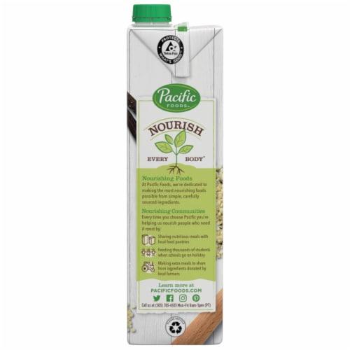 Pacific Foods™ Vanilla Hemp Beverage Perspective: bottom