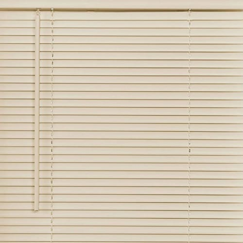 Achim Cordless GII Deluxe Sundown 1 Inch Vinyl Window Room Darkening Mini Blinds Perspective: bottom