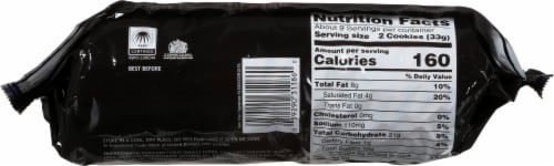 Mcvitie's Dark Chocolate Digestives Perspective: bottom