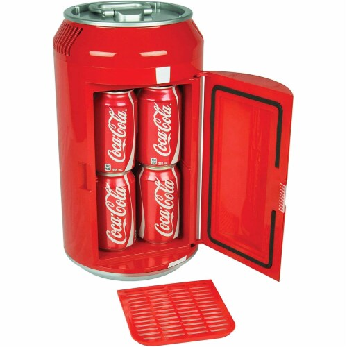 Koolatron 8 Can Official Coca-Cola AC/DC Electric Mini Fridge Beverage Cooler Perspective: bottom