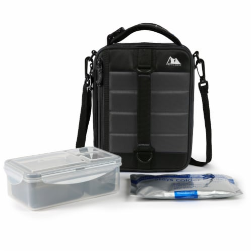 Arctic Zone High Performance Ultimate Lunch Pack - Gray Perspective: bottom