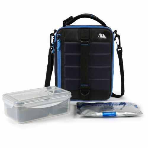 Arctic Zone High Performance Ultimate Lunch Pack - Navy Perspective: bottom