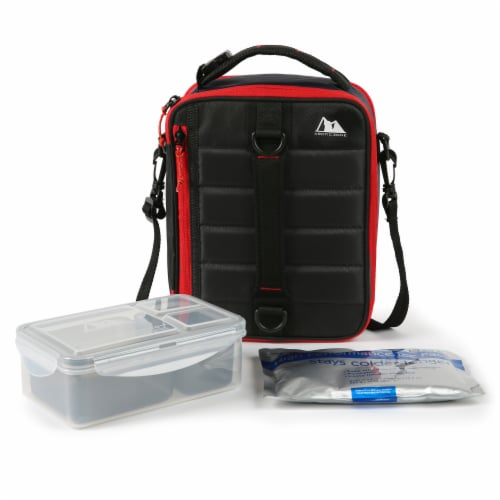 Arctic Zone High Performance Ultimate Lunch Pack - Black Perspective: bottom
