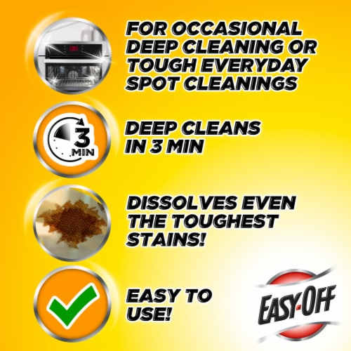 Easy Off Heavy Duty Oven Cleaner Perspective: bottom