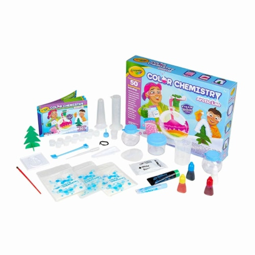 Crayola Arctic Color Chemistry Set for Kids Perspective: bottom