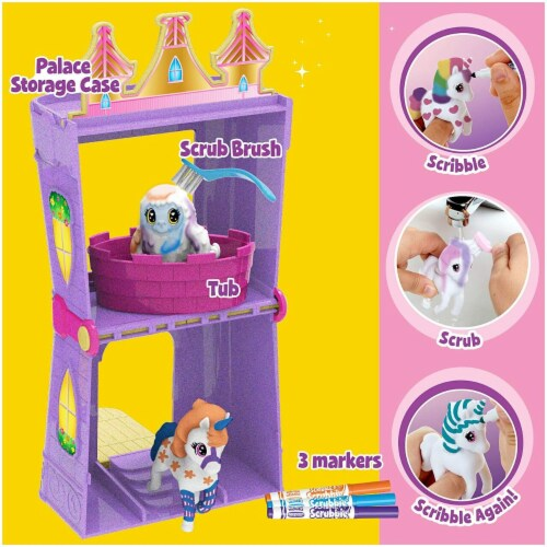 Crayola Scribble Scrubbie Peculiar Pets Palace Playset Perspective: bottom