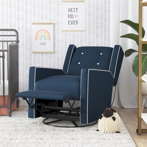 Baby Relax Mikayla Swivel Glider Recliner Chair Perspective: bottom