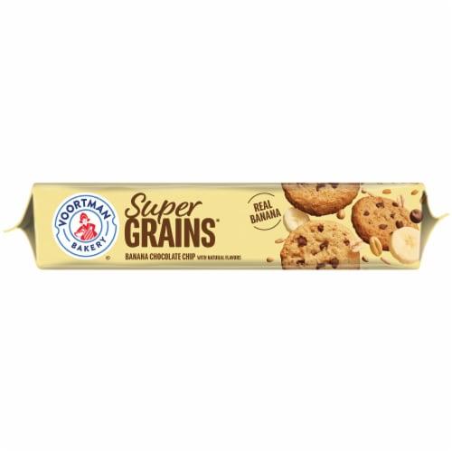 Voortman Super Grains Banana Chocolate Chip Cookies Perspective: bottom