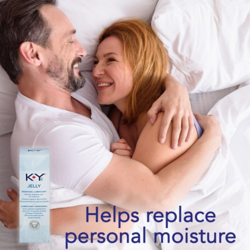 K-Y Jelly Personal Lubricant Perspective: bottom