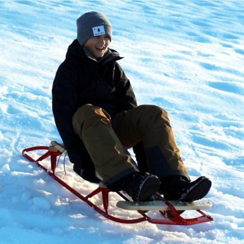 Paricon 1042 Flexible Flyer Metal Runner Steel & Wood Snow Slider Sled, 42 inch Perspective: bottom