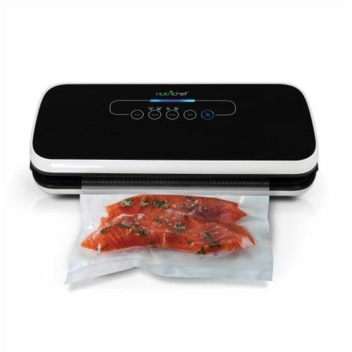 NutriChef PKVS18BK Automatic Food Vacuum Sealer Perspective: bottom