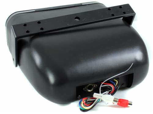 Pyle Waterproof Marine Stereo Housing to Mount on Boat or Outdoor | PLMRCB3 Perspective: bottom