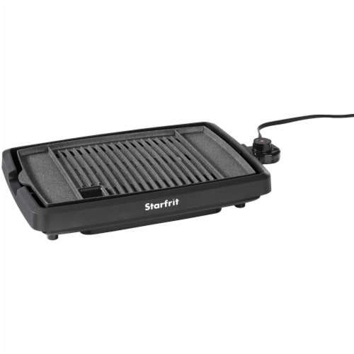 THE ROCK by Starfrit 024414-003-0000 The ROCK by Starfrit Indoor Smokeless Electric BBQ Grill Perspective: bottom