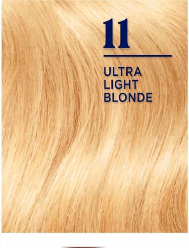 Clairol Nice'n Easy 11 Ultra Light Blonde Permanent Hair Color Perspective: bottom