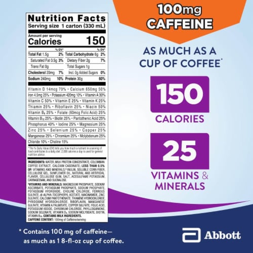 Ensure Max Protein Cafe Mocha Ready-to-Drink Nutrition Shake Perspective: bottom