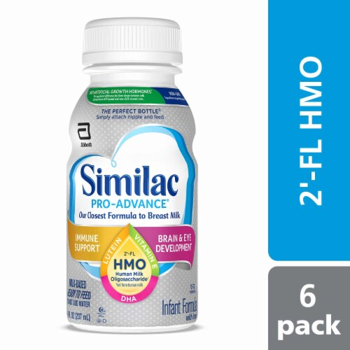 Similac Pro-Advance On-the-Go Ready to Feed Infant Formula Perspective: bottom