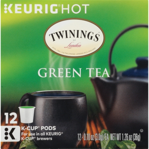 Twinings Of London Green Tea K-Cup Pods Perspective: bottom