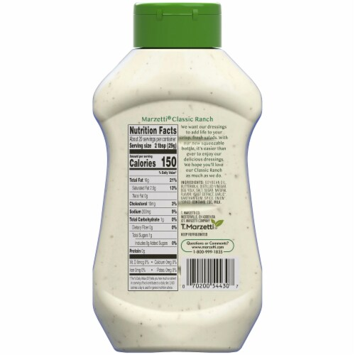 Marzetti Classic Ranch Dressing Perspective: bottom