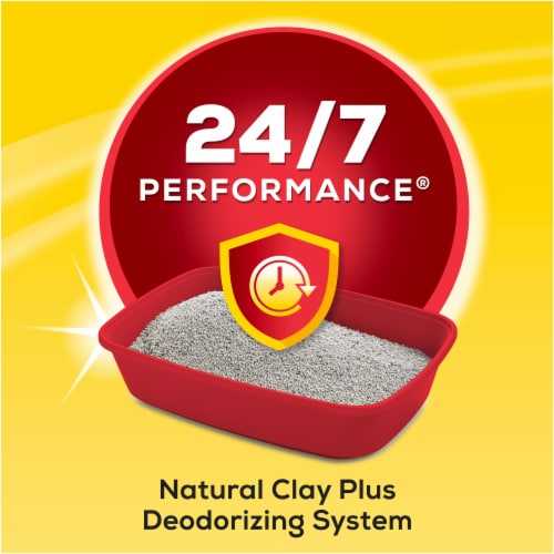 Purina Tidy Cats 24/7 Performance Multi-Cat Clumping Litter Perspective: bottom