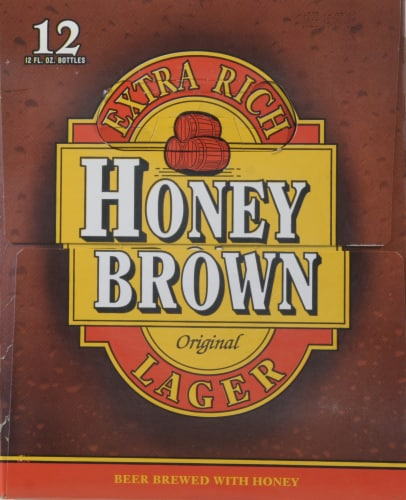 Dundee's Honey Brown Lager Perspective: bottom