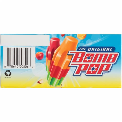 Bomb Pop Hawaiian Punch Pops Perspective: bottom