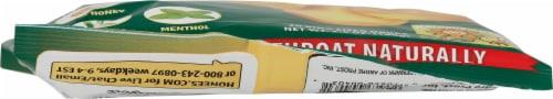 Honees® Honey Menthol Eucalyptus Drops Perspective: bottom