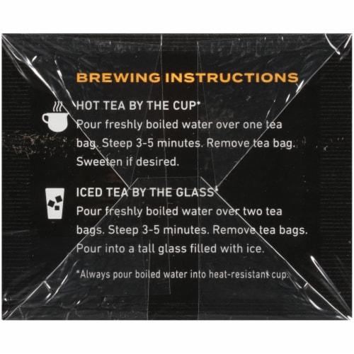 Celestial Seasonings® Peppermint Peak Black Tea Bags Perspective: bottom