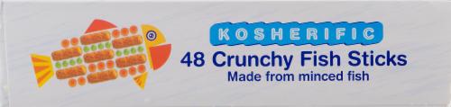Kosherific Crunchy Fish Sticks Perspective: bottom
