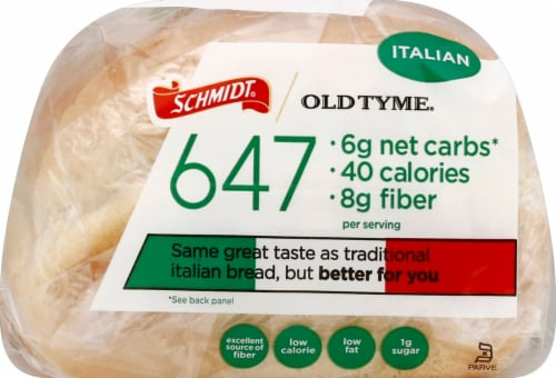 Old Tyme 647 Italian Bread Perspective: bottom
