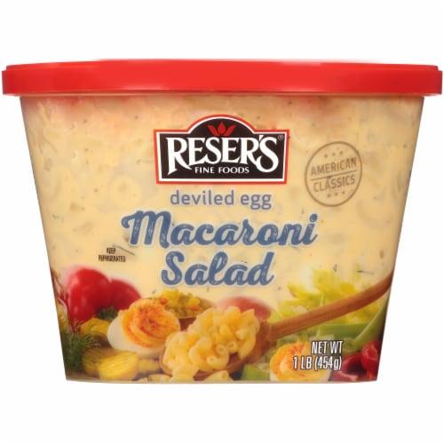 Reser's® Deviled Egg Macaroni Salad Perspective: bottom