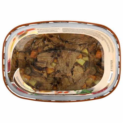 Rachael Ray Nutrish Hearty Beef Stew Recipe Wet Dog Food Perspective: bottom