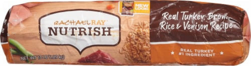 Rachael Ray Nutrish Turkey Brown Rice and Venison Dry Dog Food Perspective: bottom