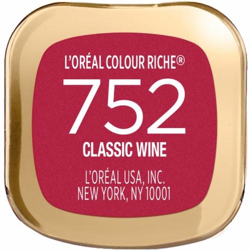L'Oreal Paris Colour Riche Classic Wine Satin Lipstick Perspective: bottom