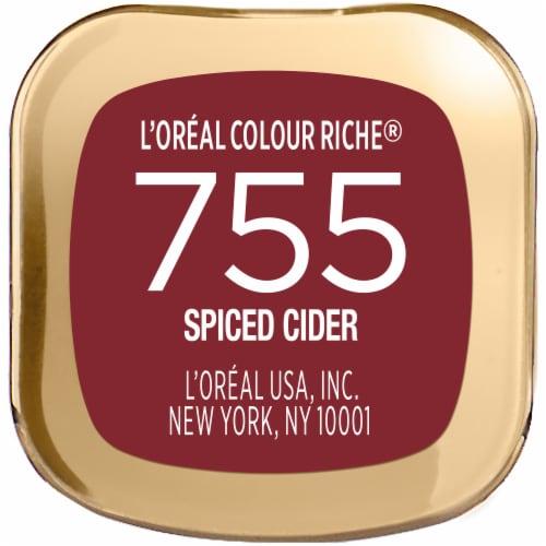 L'Oreal Paris Colour Riche® Spiced Cider Lipstick Perspective: bottom