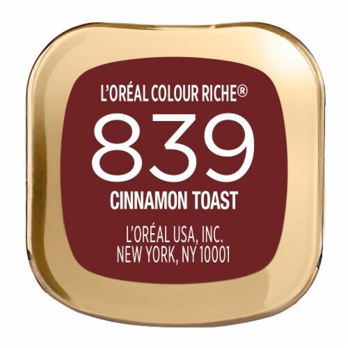 L'Oreal Paris Colour Riche 839 Cinnamon Toast Lipstick Perspective: bottom