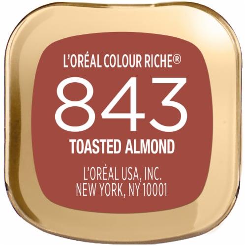 L'Oreal Paris Colour Riche 843 Toasted Almond Lipstick Perspective: bottom